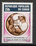 Congo - 1974 - Poste Aérienne PA N°Yv. 192 - Football World Cup Munich 74 - Neuf Luxe ** / MNH / Postfrisch - Coppa Del Mondo
