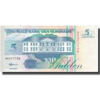 Billet, Surinam, 5 Gulden, 1998, 1998-02-10, KM:136a, NEUF - Surinam
