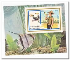 Fujeira 1972, Postfris MNH, Scouting, Birds - Fujeira