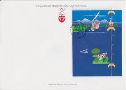 Portugal 1996 Joao Vaz Corte-Real  M/s FDC (F7816) - FDC