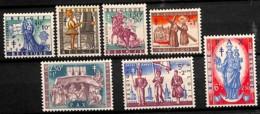 NB - [813362]TB//**/Mnh-BELGIQUE 1958 - N° 1082/88, Noël Et Légendes, Antituberculeux, Folklore, Madonnes, SC - Folklore