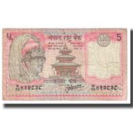 Billet, Népal, 5 Rupees, KM:30a, TB - Népal