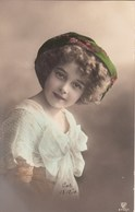 Grete Reinwald Tinted Photopostcard - Portraits