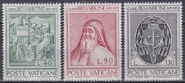 Vatikan Vatican 1972 Religion Christentum Kardinal Cardinal Bessarione Geschichte History Kunst Arts, Mi. 610-2 ** - Vatikan