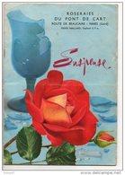 CATALOGUE 1960 . ROSERAIE DU PONT DE CART . 30 - NIMES . PIERRE MAILLARD . 40 PHOTOS DE ROSES - Réf. N°108L - - Garden