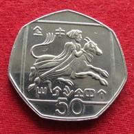 Cyprus 50 Cents 1993 KM# 66 Chipre Zypern - Chipre