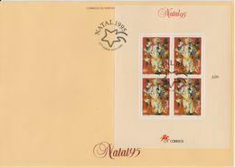 Portugal 1995 Christmas M/s (without Country Name) FDC (F7824) - FDC