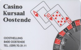 Carte De Membre Casino : Casino Kursaal Oostende - Cartes De Casino