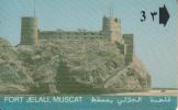 OMAN(GPT) - Fort Jelali, Muscat, CN : 9OMNA/C, Used - Oman