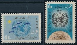 Nacions Unies - 2 Werte Postfrisch/** - Iran