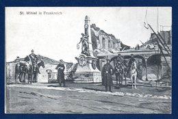55. Saint Mihiel. Monument Aux Morts 1870( Vadel-1910). Feldpost 3. Ersatz-Division. Feldlazarett N. IX AK. Février 1915 - Saint Mihiel