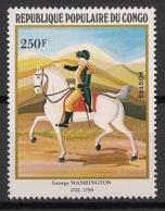 Congo - 1982 - N°Yv. 668 - Washington - Neuf Luxe ** / MNH / Postfrisch - Celebrità