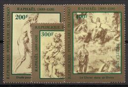 Congo - 1983 - N°Yv. 702 à 704 - Raphael - Neuf Luxe ** / MNH / Postfrisch - Ongebruikt