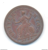 Great Britain Anne Farthing 1714 COPY - 1662-1816 : Antiche Coniature Fine XVII° - Inizio XIX° S.