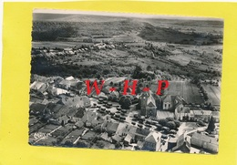 CPSM - VARENNES Sur AMANCE  (Hte Marne)  -Vue Générale Aérienne - Au Centre L'église - Autres Communes