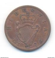 G.B. Ireland George III 1/2 Penny 1776 COPY - 1662-1816 : Antiche Coniature Fine XVII° - Inizio XIX° S.