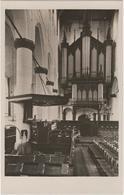 Naarden - Groote Kerk \'t Schip - & Organ, Orgel, Orgue - Naarden