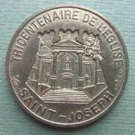 CORSE Ville De BASTIA 1 ECU 1995 Confrérie Tricentenaire église Saint Joseph C.Cardot - Euros Of The Cities