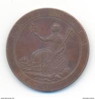 Great Britain George III Penny 1797 COPY - 1662-1816 : Antiche Coniature Fine XVII° - Inizio XIX° S.