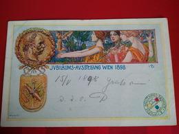 Jubilaums Ausstellung Wien 1898 Illustrateur - Vienna