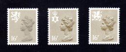 GRANDE-BRETAGNE - 1983 - REGIONAUX - Yvert N° 1082a/1084a - NEUFS** LUXE/MNH - 3 Valeurs - Unclassified