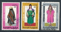 °°° TUNISIA - Y&T N°1093/95 - 1987 °°° - Tunisia (1956-...)