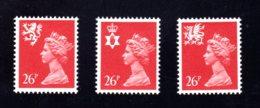 GRANDE-BRETAGNE - 1982 - REGIONAUX - Yvert N° 1036A/1038A - NEUFS** LUXE/MNH - Série Complète 3 Valeurs - Unclassified