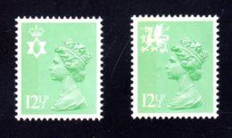 GRANDE-BRETAGNE - 1982 - REGIONAUX - Yvert N° 1028a/1029a - NEUFS** LUXE/MNH - 2 Valeurs - Unclassified