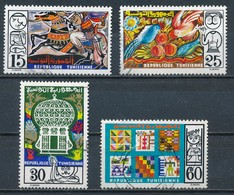 °°° TUNISIA - Y&T N°795/96/97/99 - 1975 °°° - Tunisia (1956-...)