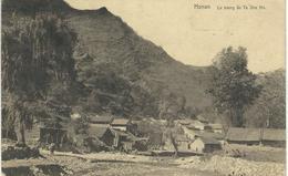 CHINE - CHINA -  HONAN - Le Bourg De Ta She Ho - Cachet De La Poste 1921 - Chine