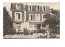 Sissonne 02 Aisne Hôtel Restaurant Puissauve Camp De Sissonne TB 2 Scans - Sissonne