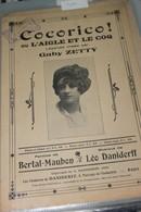 """Partition De """"L'aigle Et Le Coq"""" - Partitions Musicales Anciennes"""