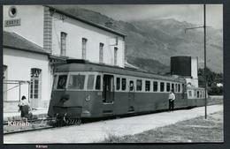 Corse - Photo B. Rozé - Gare De Corte - Autorail Renault ABH N°202 - Voir 2 Scans - Corte
