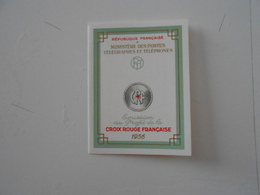 FRANCE  YT CR2006 CARNET CROIX-ROUGE 1957** - Red Cross