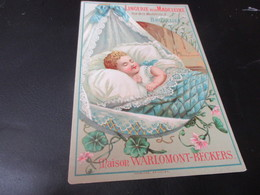 Chromo, Lingerie Dela Madeleine, Bruxelles - Kaufmanns- Und Zigarettenbilder