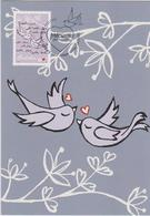 Australia Maximum Card Mi 3660 - Postal Stationery - Precious Moments - Love Birds - 2012 - Maximumkaarten