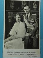 L.L. A.A. R.R. Princesse Joséphine Charlotte De Belgique Prince Héritier Jean De Luxembourg - Familles Royales
