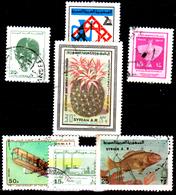 Siria-00115 - Valori Del 1976-79 (o) Used - Senza Difetti Occulti. - Siria