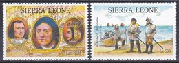Senegal 1993 Geschichte History Entdeckungen Discovery Kolumbus Columbus Isabella Ferdinand Royals, Mi. 1955-6 ** - Sierra Leone (1961-...)