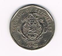 //  SEYCHELLES  5 RUPEES  1982 - Seychelles