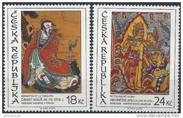 2009 Rep TCHEQUE 529-30** Art Asiatique - Tchéquie
