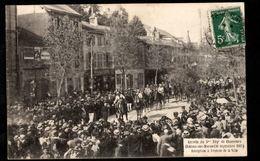 51 - CHÂLONS SUR MARNE - Arrivée Du 5e Régt De Chasseurs (26 Septembre 1907) - Réception à L'Entrée De La Ville - Châlons-sur-Marne