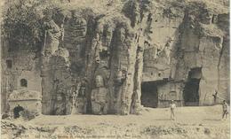CHINE - CHINA -  HONAN -She Kou Sze Grottes Et Statues Bouddhiques Du VIme Siècle - Cachet De La Poste 1922 - Chine