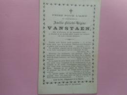 D.P.-AMELIE FEL.REG.VANSTAEN°FURNES 20-11-1797+11-7-1877 - Godsdienst & Esoterisme