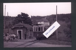 Tramway Pontarlier-Mouthe  L'autorail En Gare De Chaon  Reproduction - Other Municipalities