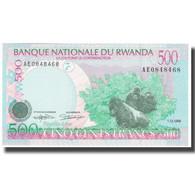 Billet, Rwanda, 500 Francs, 1998, 1998-12-01, KM:26a, NEUF - Ruanda