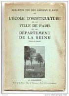 ÉCOLE D'HORTICULTURE DE LA VILLE DE PARIS . BULLETIN DES ANCIENS ÉLÈVES . PUBLICITÉ ROSES A. MEILLAND - Réf. N°57L - - Garden