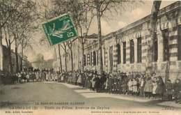 100519 - 82 CAUSSADE école De Filles Avenue De Caylus - Enfant écolier Animation - Caussade