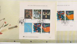 Portugal 1989 Paintings 2 M/s 2 FDC (F7828) - FDC