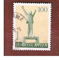 JUGOSLAVIA (YUGOSLAVIA)   - SG 2084  -    1983  MONUMENTS: VALJEVO   -  USED - 1945-1992 Repubblica Socialista Federale Di Jugoslavia